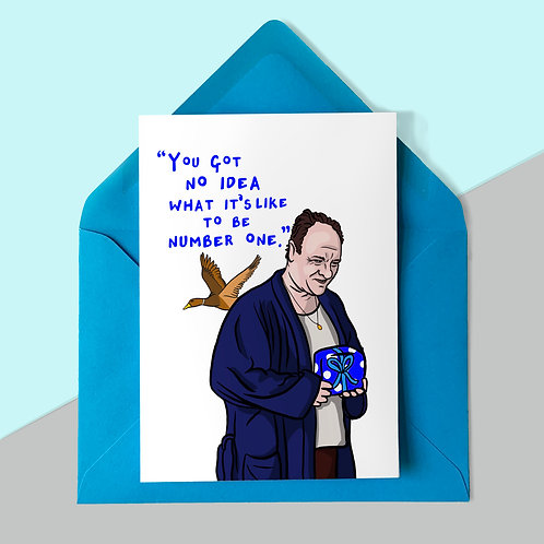 Tony from The Sopranos Father's Day Card