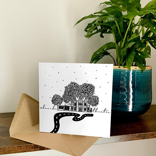 Almeida Theatre Abstract Architecture Treetop Card