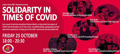 Solidarity In Times Of COVID