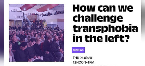 How Can We Challenge Transphobia In The