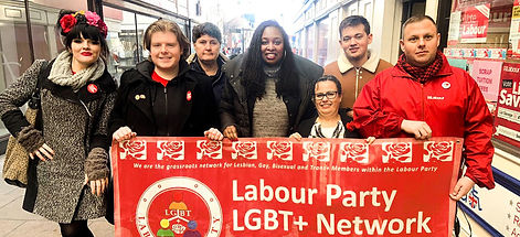 Dawn Butler and The Labour Party LGBT+ N