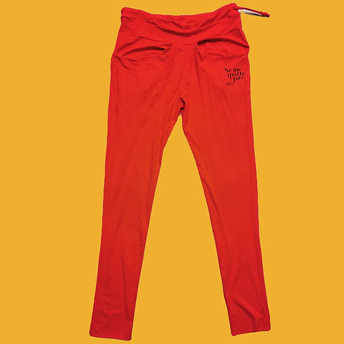 Jogging pants 'Ne me quitte pas' Collector's Item