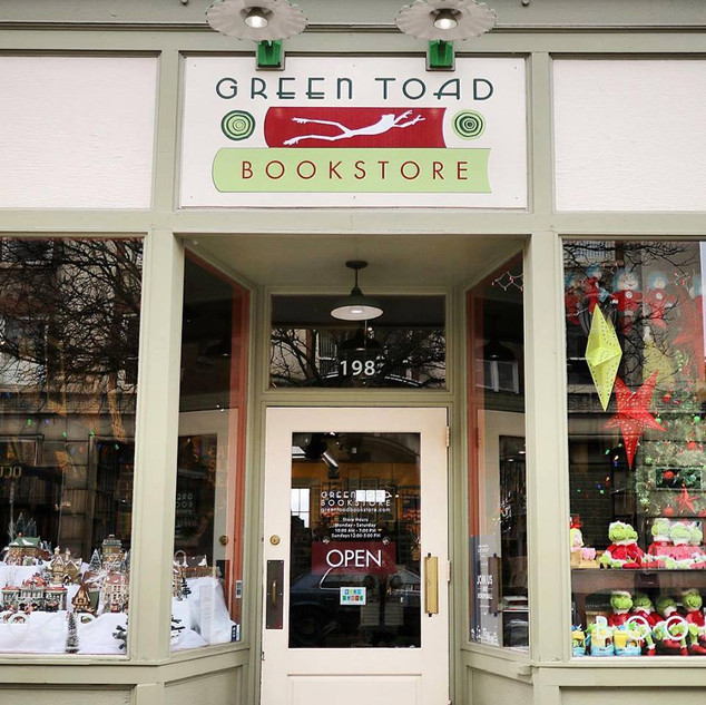 Green Toad Bookstore, Central Leatherstocking