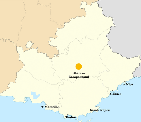 Provence Alpes Cote D'Azur - Camparnaud.