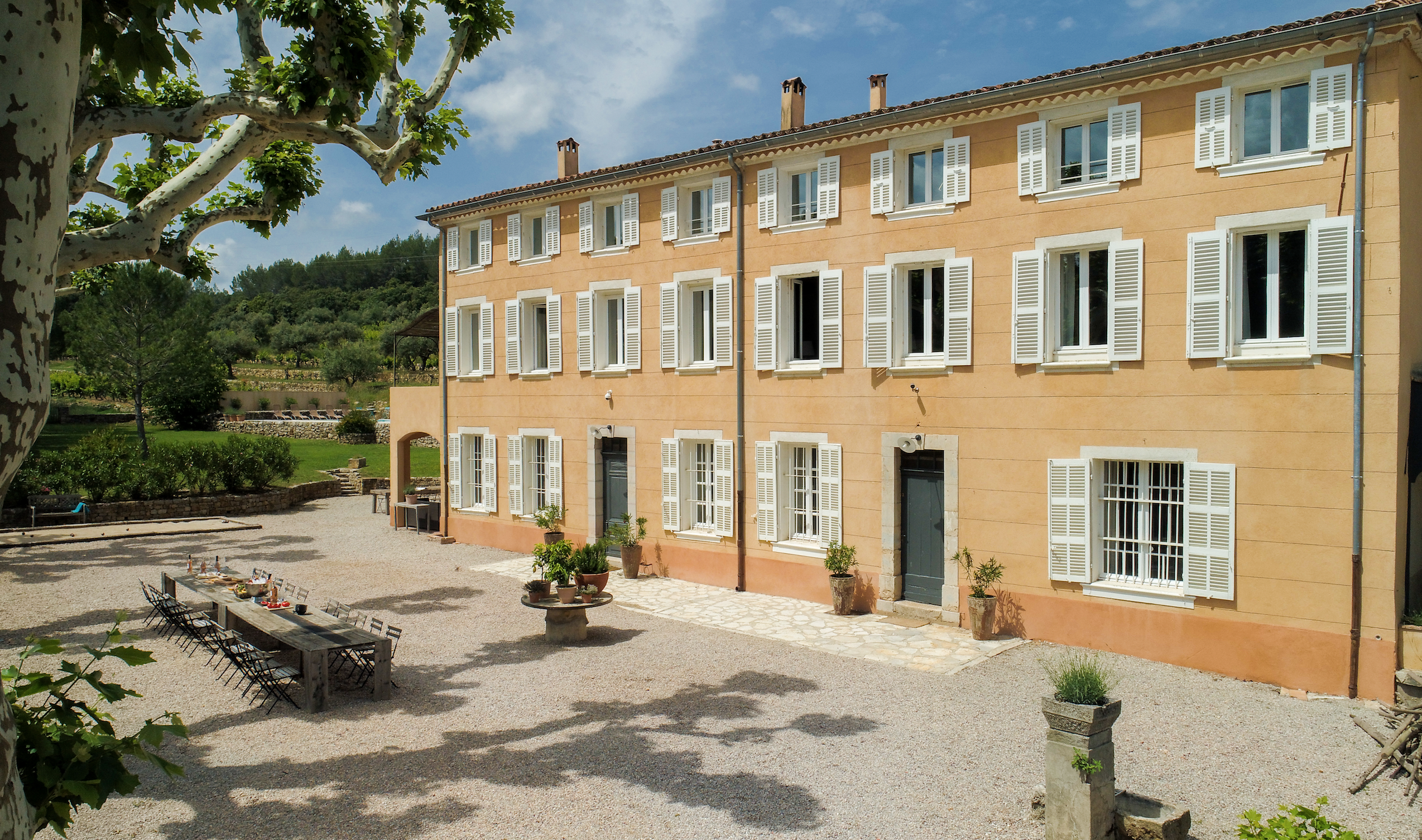 chateau camparnaud provence 4