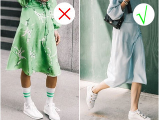 5 สิ่งที่ใส่คู่กับรองเท้าผ้าใบแล้วไม่เวิร์ก!