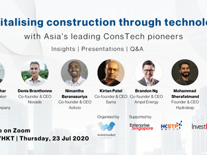 """Revitalising Construction Through Technology"" Webinar"