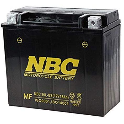 NBC バッテリー 20L-BS メンテナンスフリー