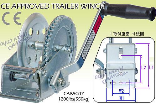 ハンドウィンチ 牽引最大負荷約545kg