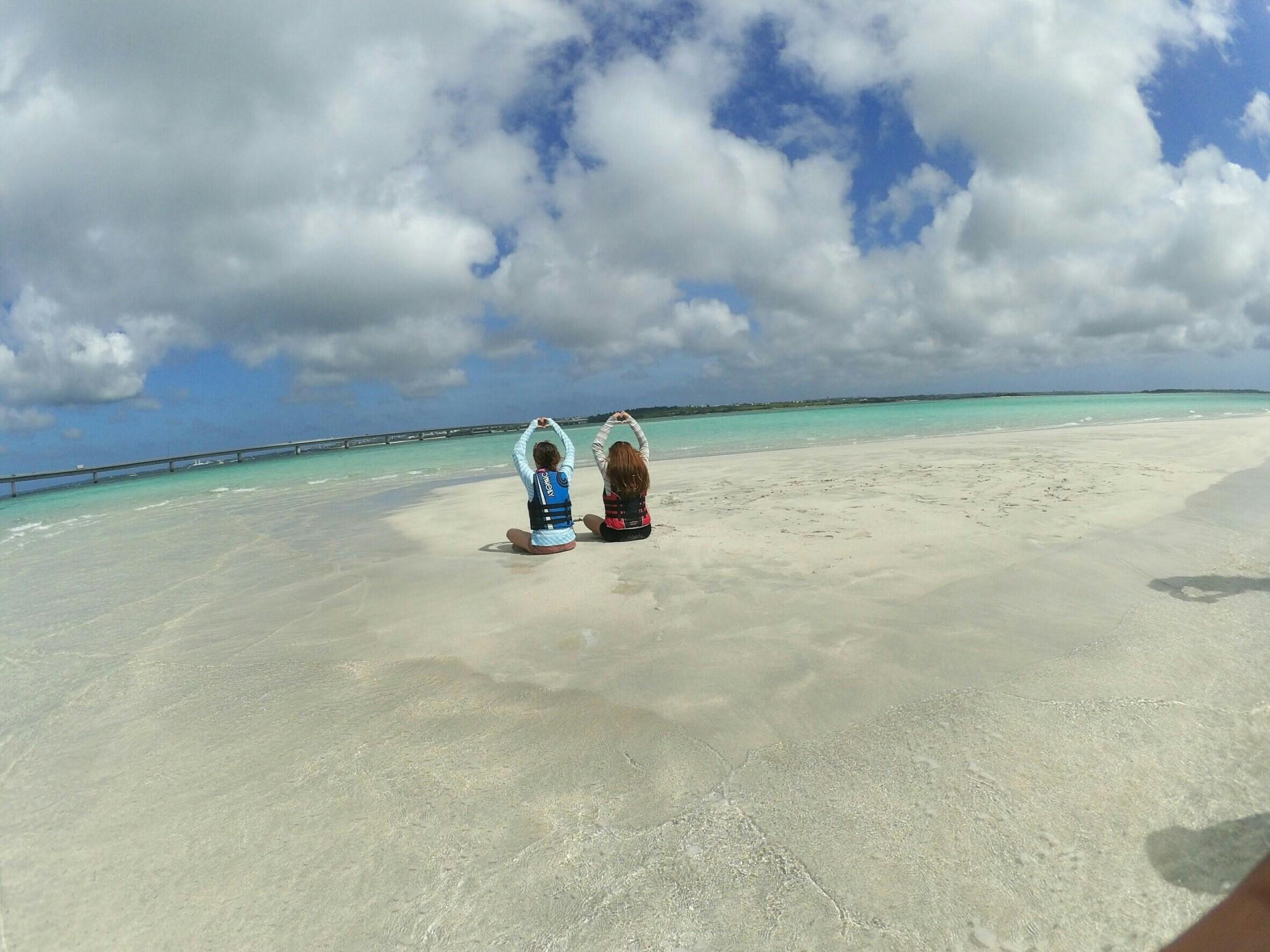 砂の浜ツーリングコース/1人/パイナガマビーチ発