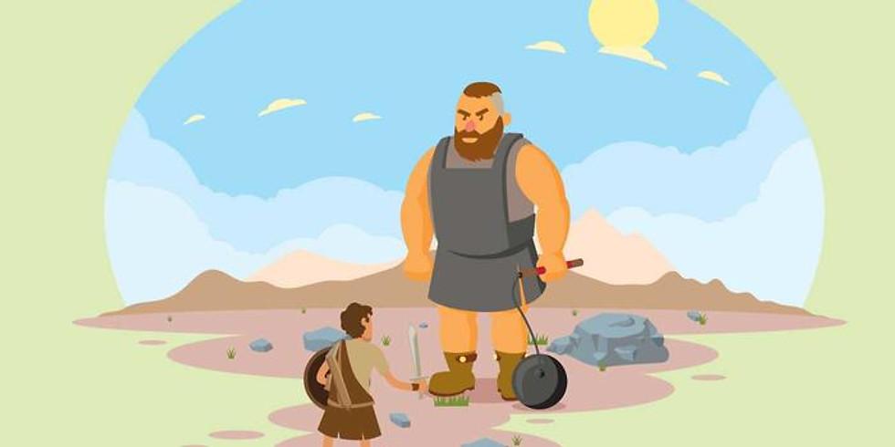 SPRInG op 24 september met als thema David en Goliath