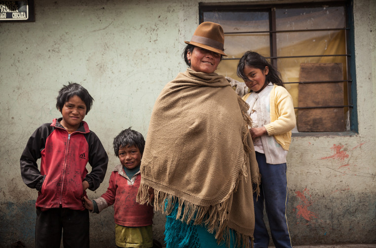 Diversified family farm in Cangahua - Ecuador
