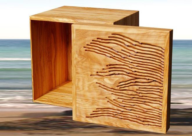 28 - scatola in ulivo