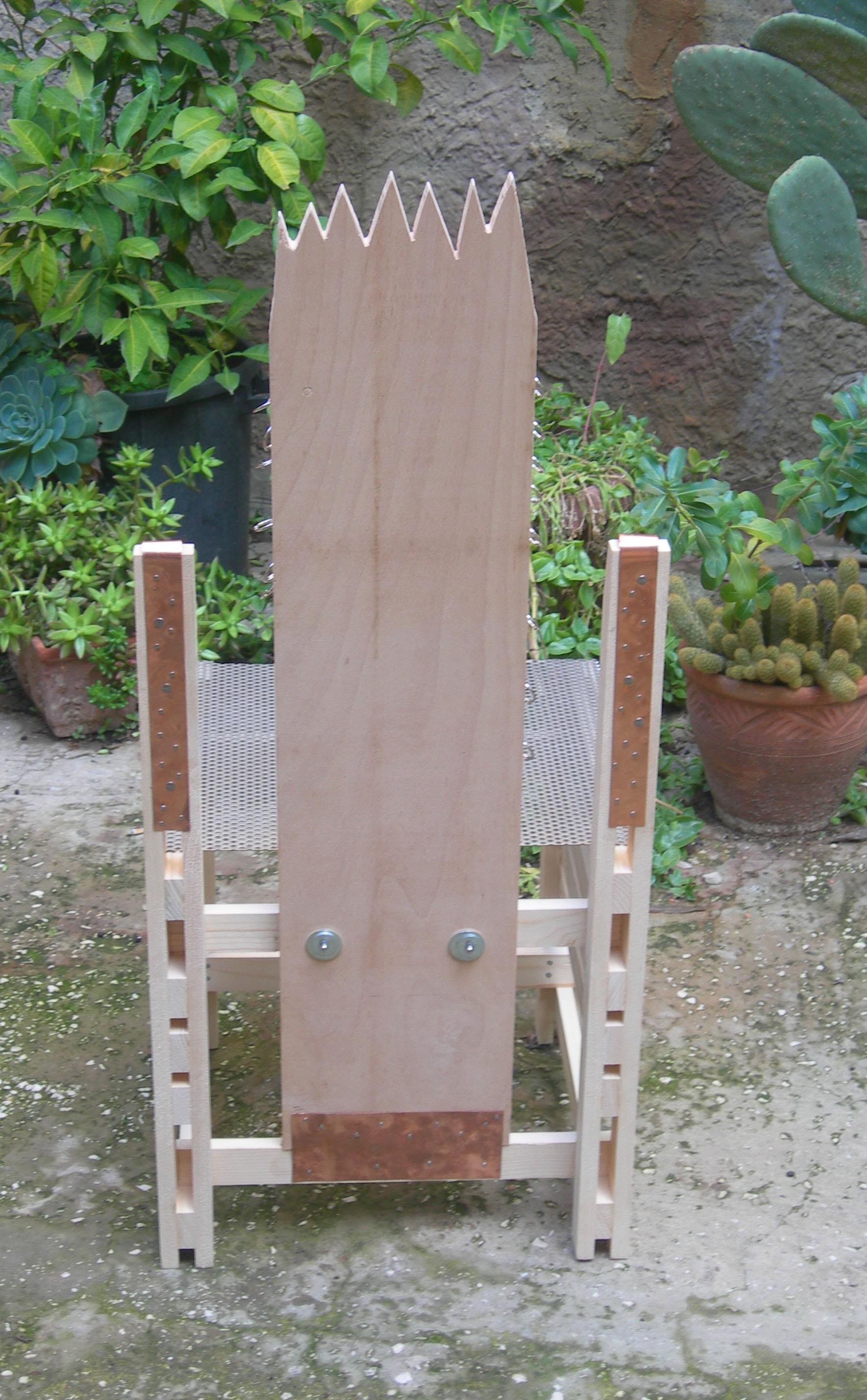 3 - sedia/chair Sganga