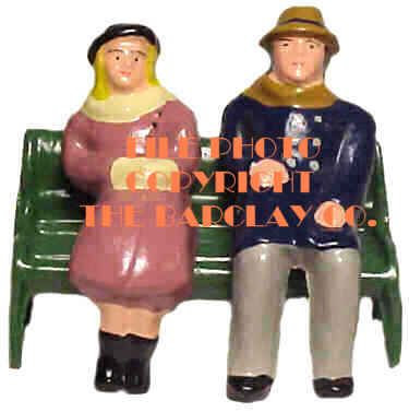 #4010 - Man & Lady On Bench