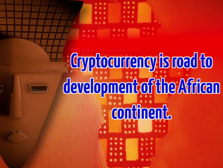 Cryptocurrency is the road to development of the African continent.