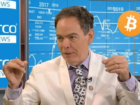 Max Kaiser sees bitcoin as salvation during the financial crisis