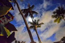 Honeymoon in Puerto Rico - Moon Passing,