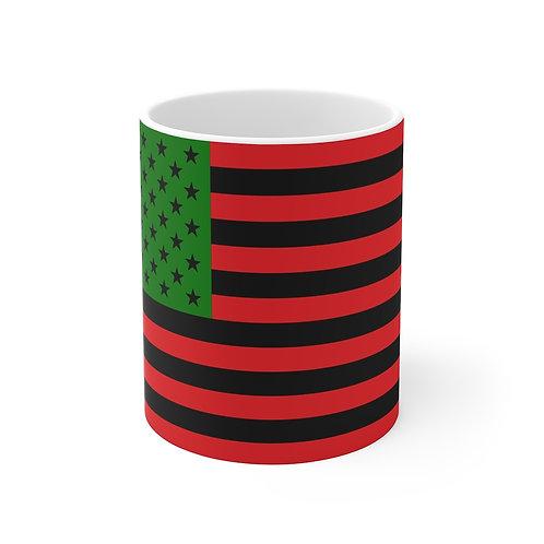 African American Flag Mug 11oz
