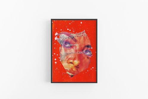Limited Edition Aaliyah Art Print