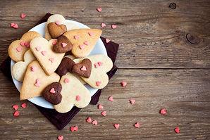 Biscoitos do coração