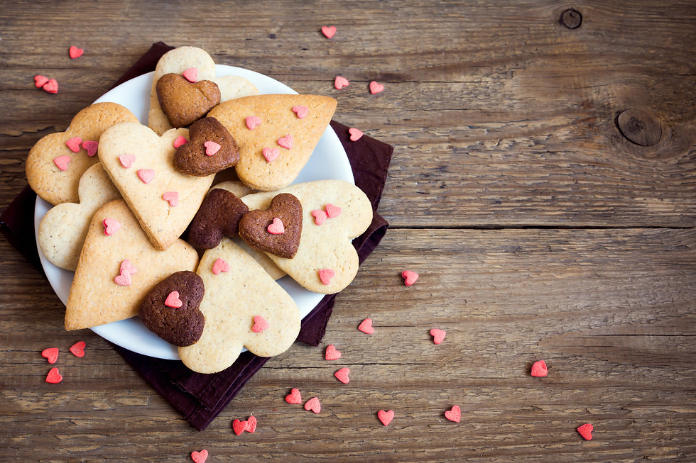 Biscuits de coeur