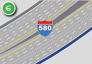 Repair pavement on I-580 northbound.