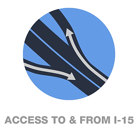 Link to Access to and from I-15 Final configuration
