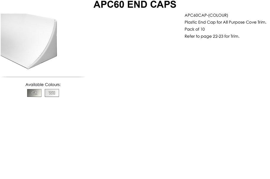 APC60 End Caps