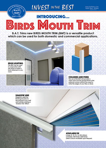 Introducing Birds Mouth Trim