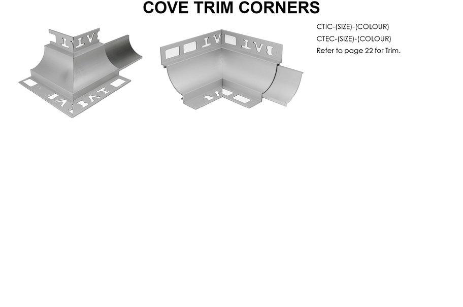 Cove Trim Corners