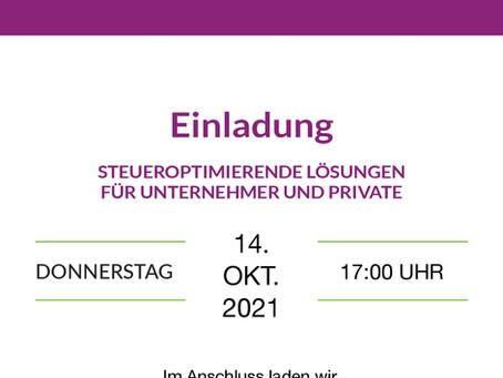 Steuern sparen, Steuern steuern. Das GmbH Steuersparmodell!