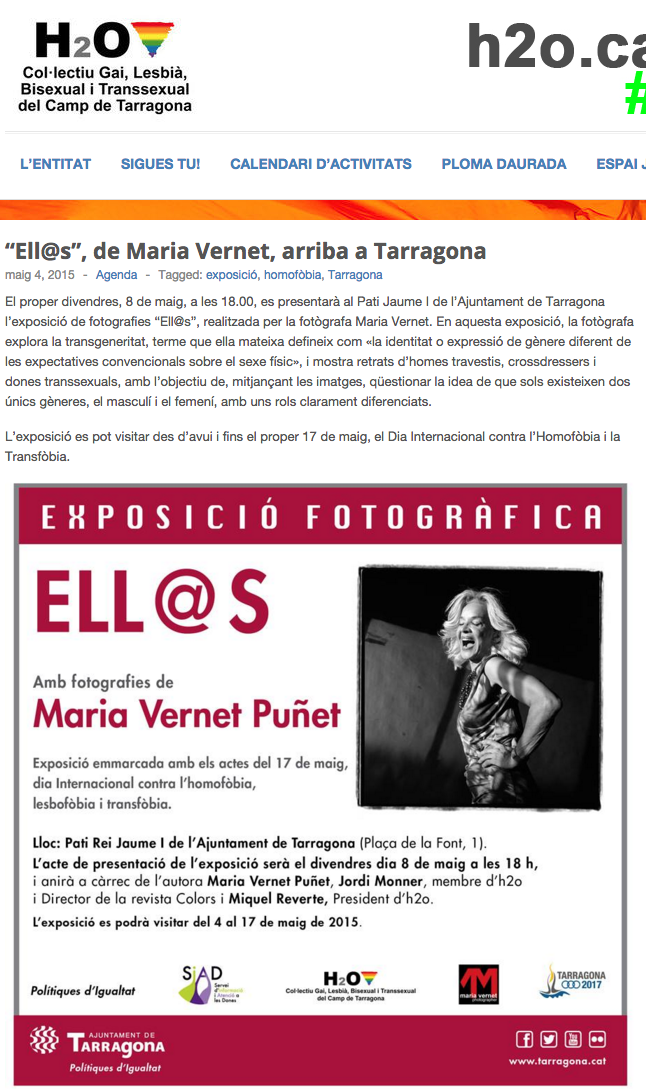 Exposició Ajuntament Tarragona 2015