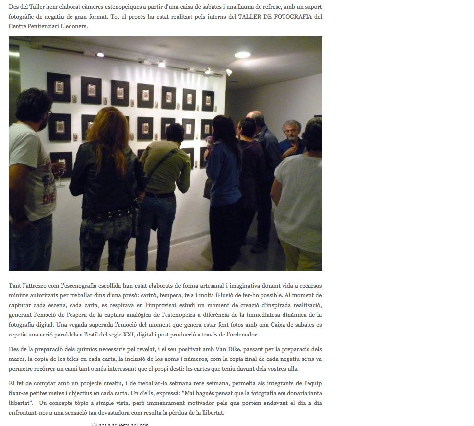 Exposició Can Basté 2011