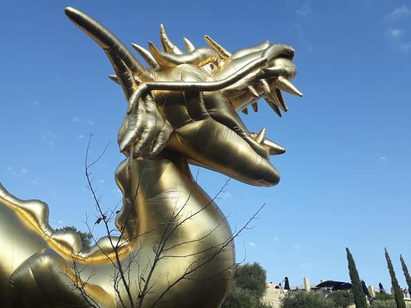 Jerusalem of Gold Float
