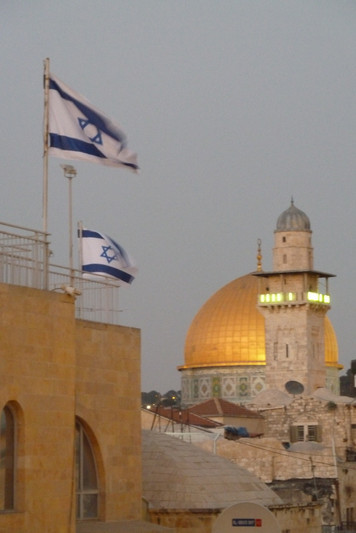 Above the Western Wall