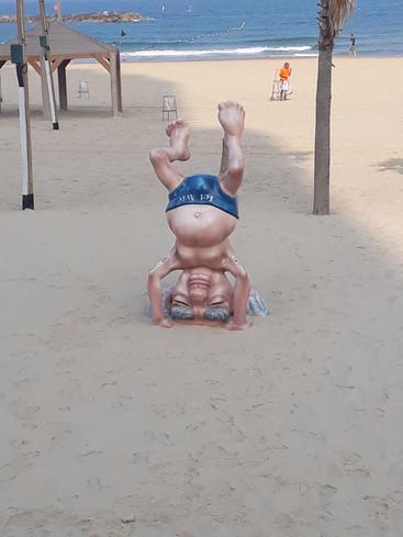 Ben Gurion - Yoga on the Beach