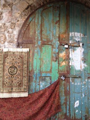 A doorway in Jerusalem