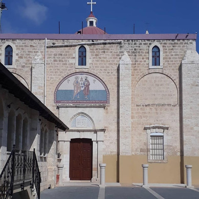 Church in Shfar-am, a village in the Galilee with Muslim, Christian and Druze resdients