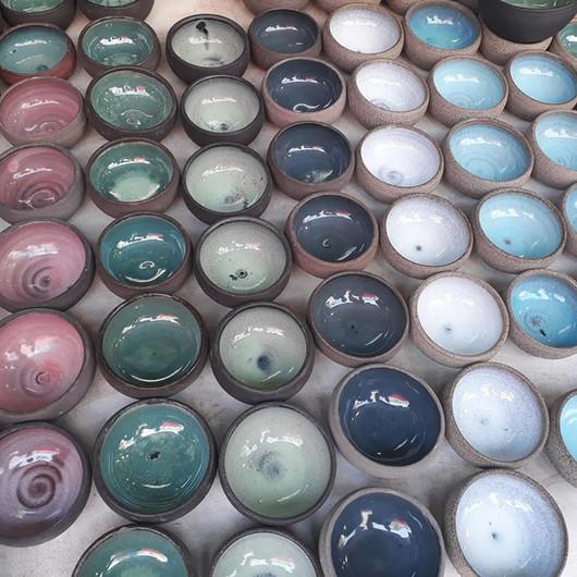 Bowls in Tel Aviv's Carmel Market