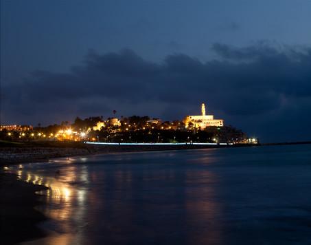 Jaffa at night