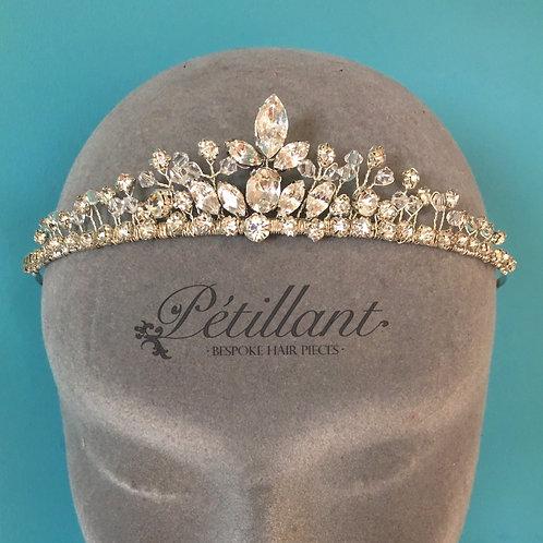 Classic diamanté tiara