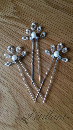 Pearl and bead pins