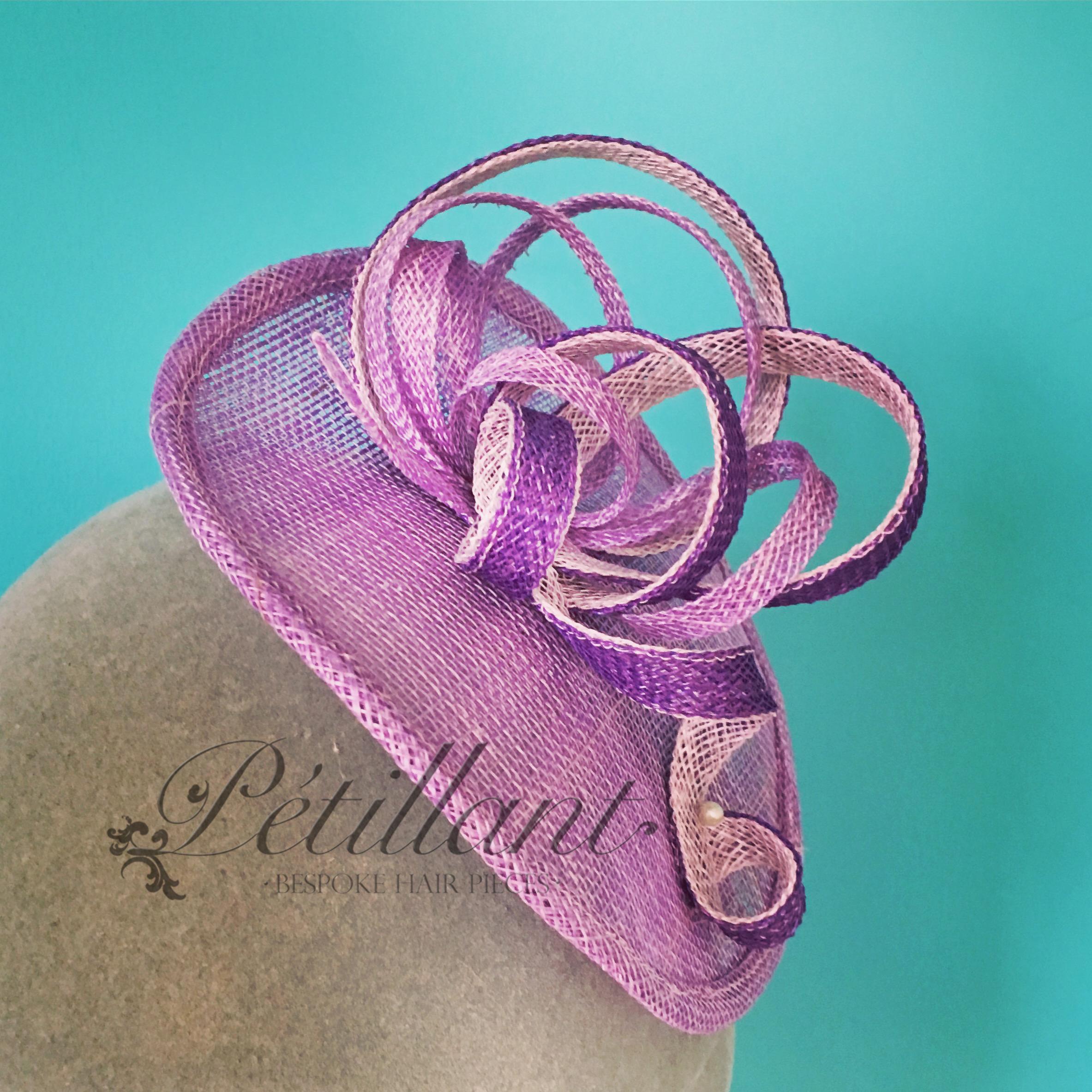 lilac-fascinator