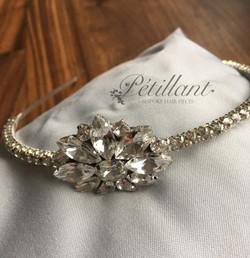 Crystal diamante headband