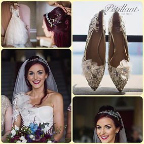 Bridal accessory montage