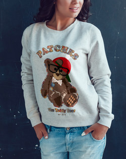 PATCHES sweatshirt
