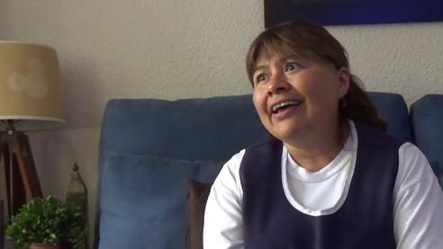 Video testimonial trabajadora a patrones