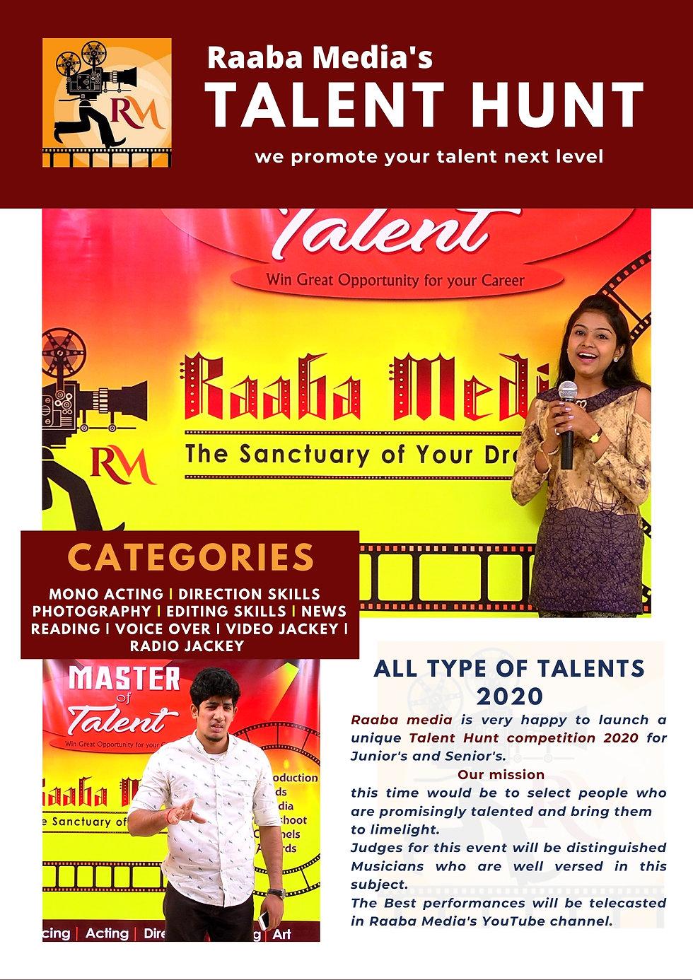raabamedia's talent hunt film 01.jpg