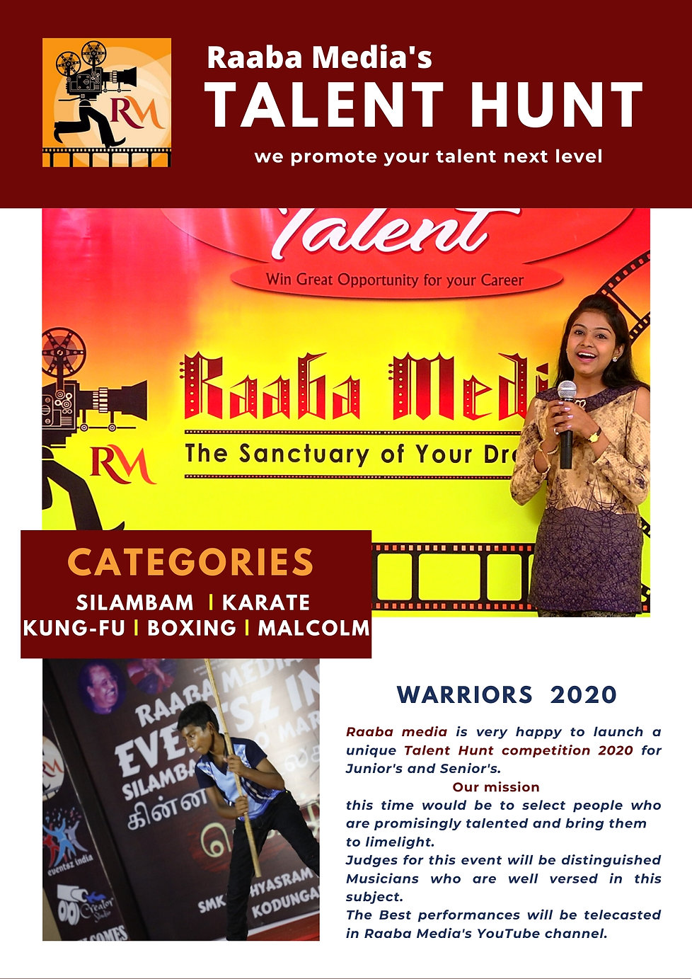 raaba media's talent hunt martial arts 0